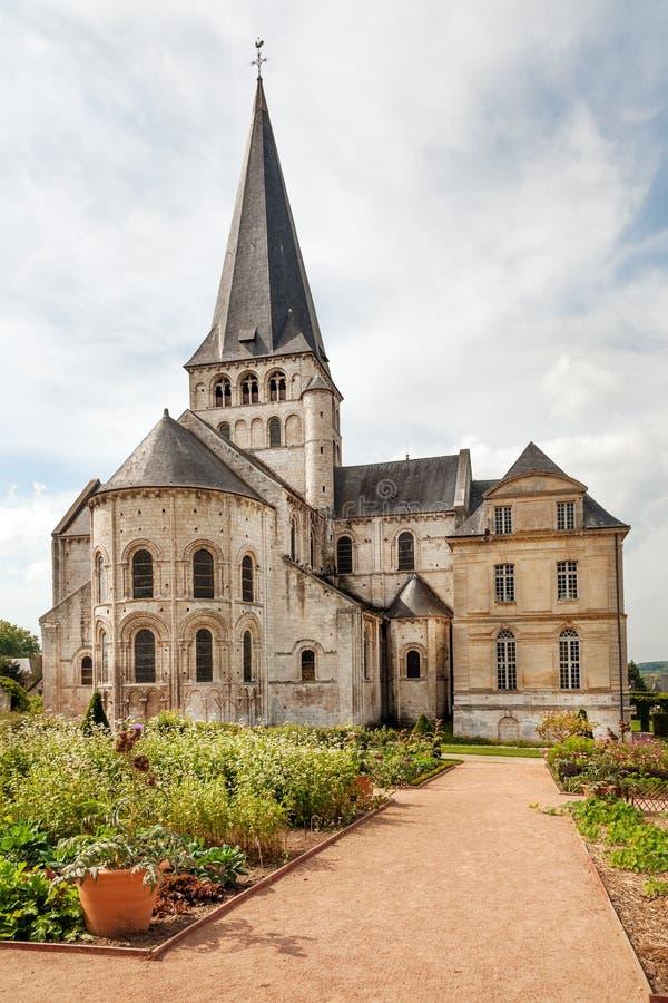 圣徒乔治de Boscherville Abbey 免版税库存图片