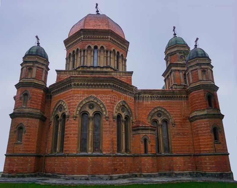 圣徒伊莱贾教会在克拉约瓦罗马尼亚 免版税库存照片