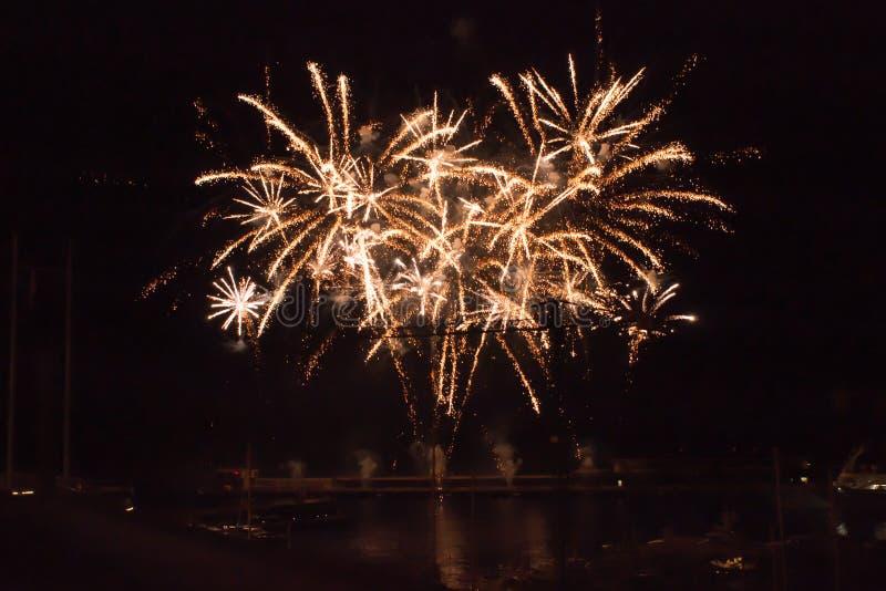 """圣徒在摩纳哥â€的Devota庆祝""""2015年 图库摄影"""