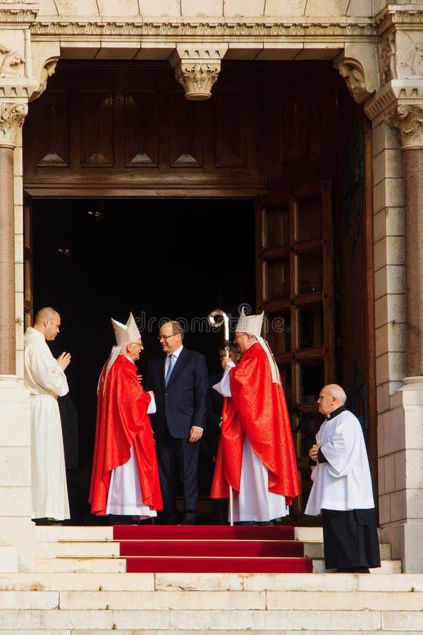 """圣徒在摩纳哥â€的Devota庆祝""""2015年 库存图片"""