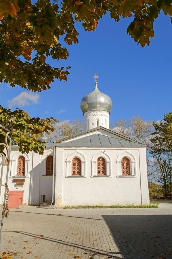 圣徒尼古拉斯教会白色 免版税库存照片