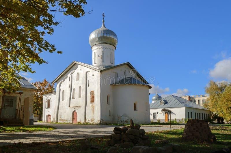 圣徒尼古拉斯教会白色 免版税图库摄影