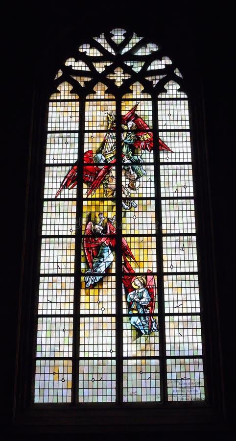 圣徒尼古拉斯教区教堂 免版税库存图片