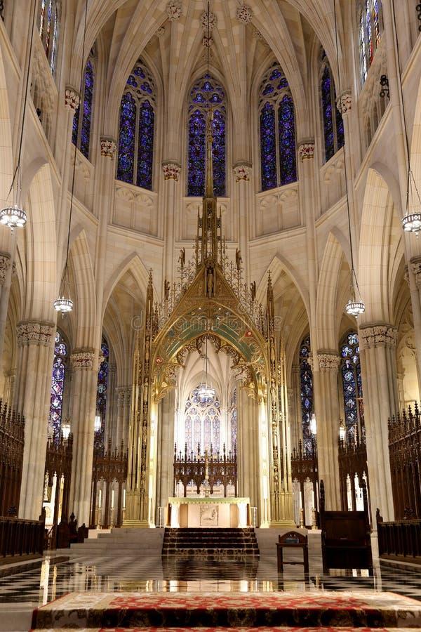 圣徒帕特克的大教堂 免版税库存图片