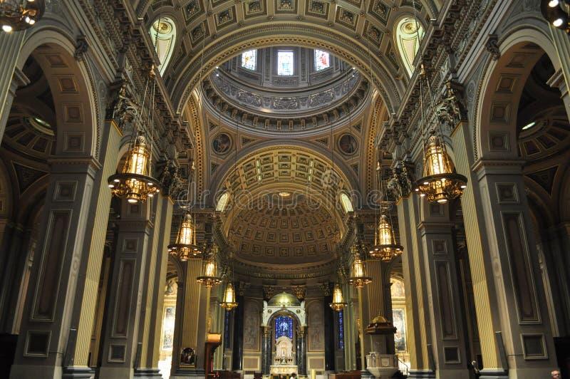 圣徒彼得和保罗,费城,宾夕法尼亚,美国大教堂大教堂  免版税库存图片
