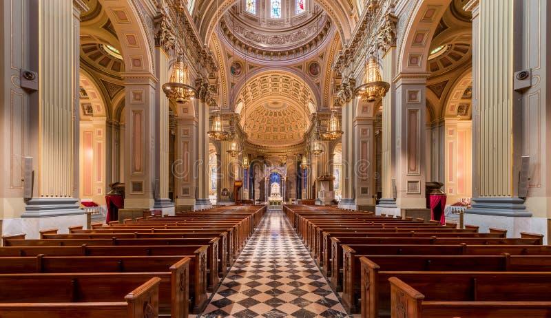 圣徒彼得&保罗大教堂大教堂  免版税图库摄影
