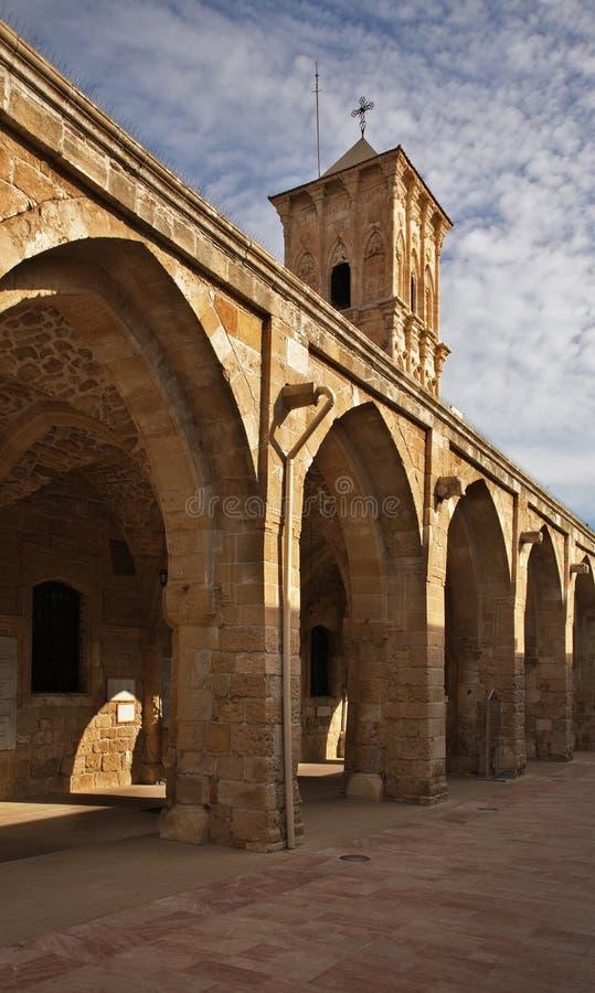 圣徒拉撒路教会在拉纳卡 塞浦路斯 免版税库存照片