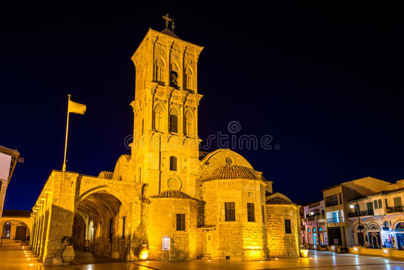 圣徒拉撒路教会在拉纳卡 免版税库存图片