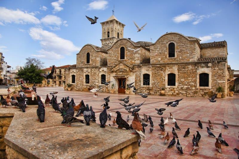 圣徒拉撒路教会  免版税库存照片