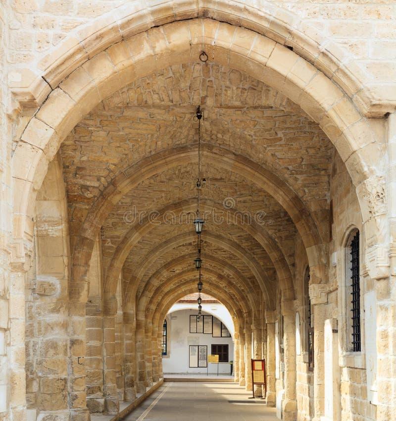 圣徒拉撒路,塞浦路斯的拉纳卡教会  特写镜头非常eyedroppers高分辨率视图 库存图片
