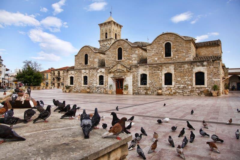 圣徒拉撒路,拉纳卡,塞浦路斯教会  免版税图库摄影