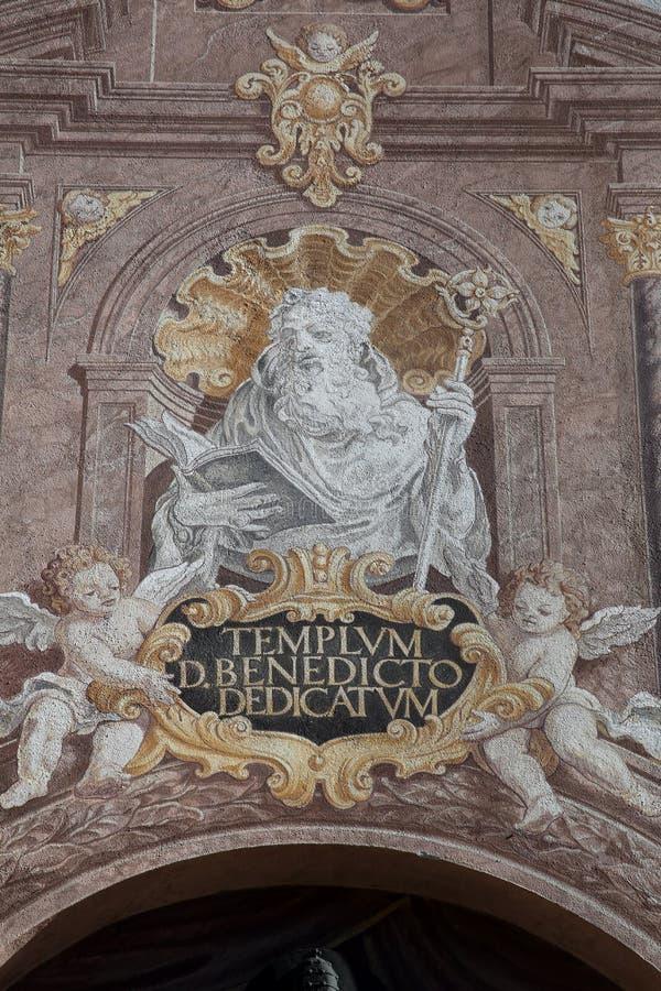 圣徒本尼迪克特 免版税库存照片