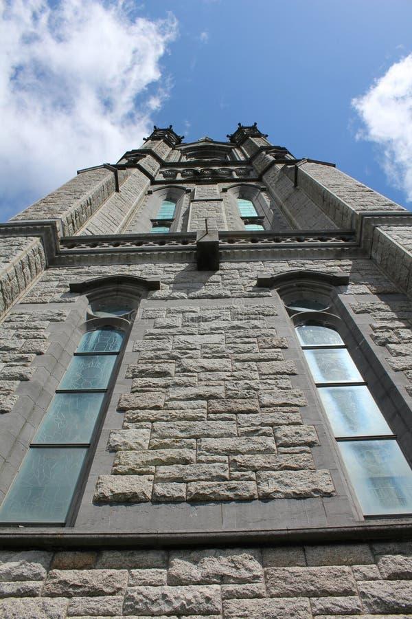 圣徒科尔曼` s大教堂科芙黄柏爱尔兰 免版税库存图片