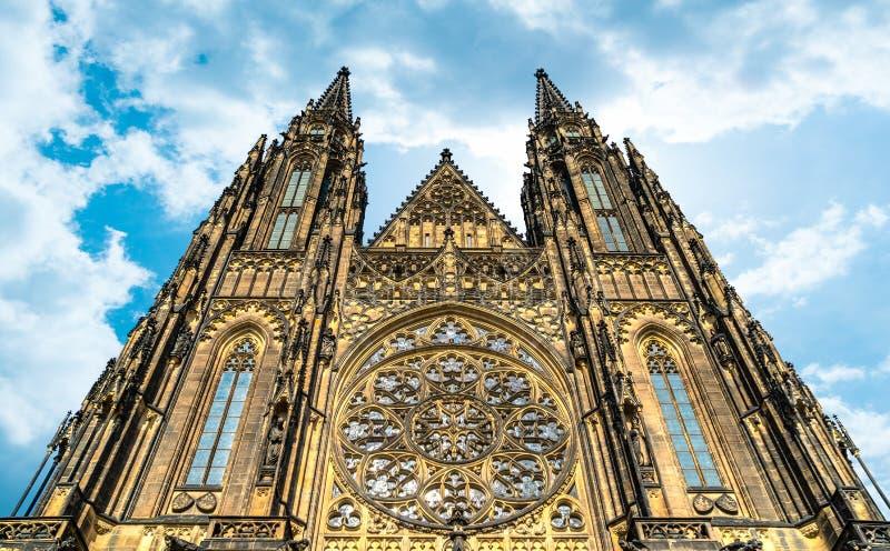 圣徒维塔斯大教堂 免版税库存照片