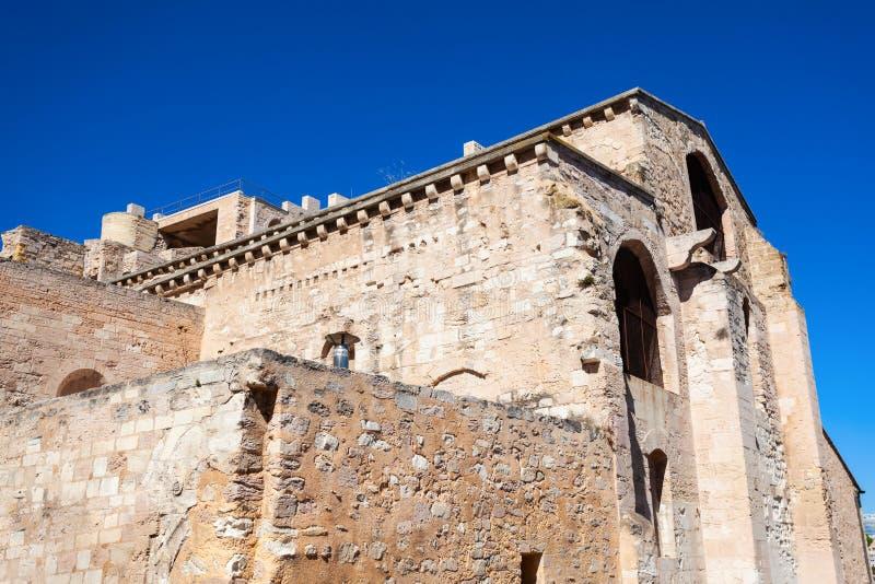 圣徒胜者,马赛修道院  免版税图库摄影