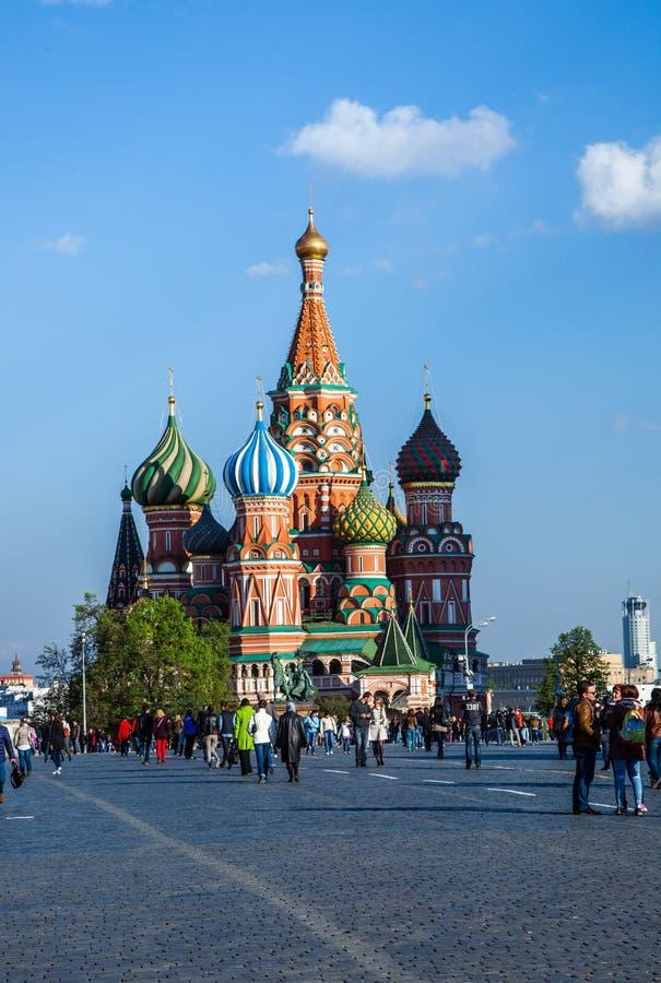 圣徒蓬蒿莫斯科 库存图片