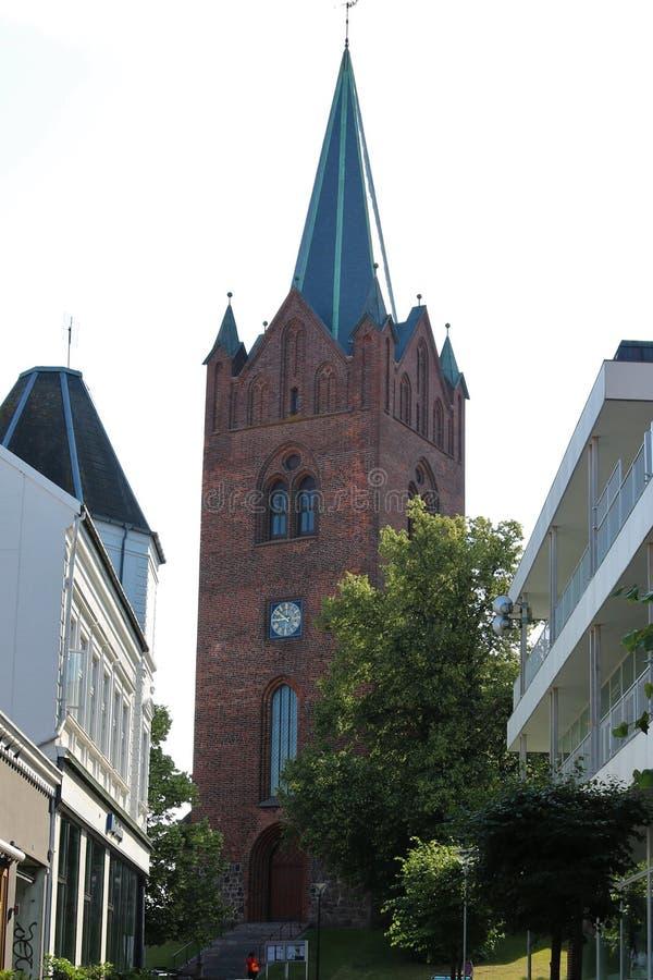 圣徒迈克尔斯教会的图象 库存图片