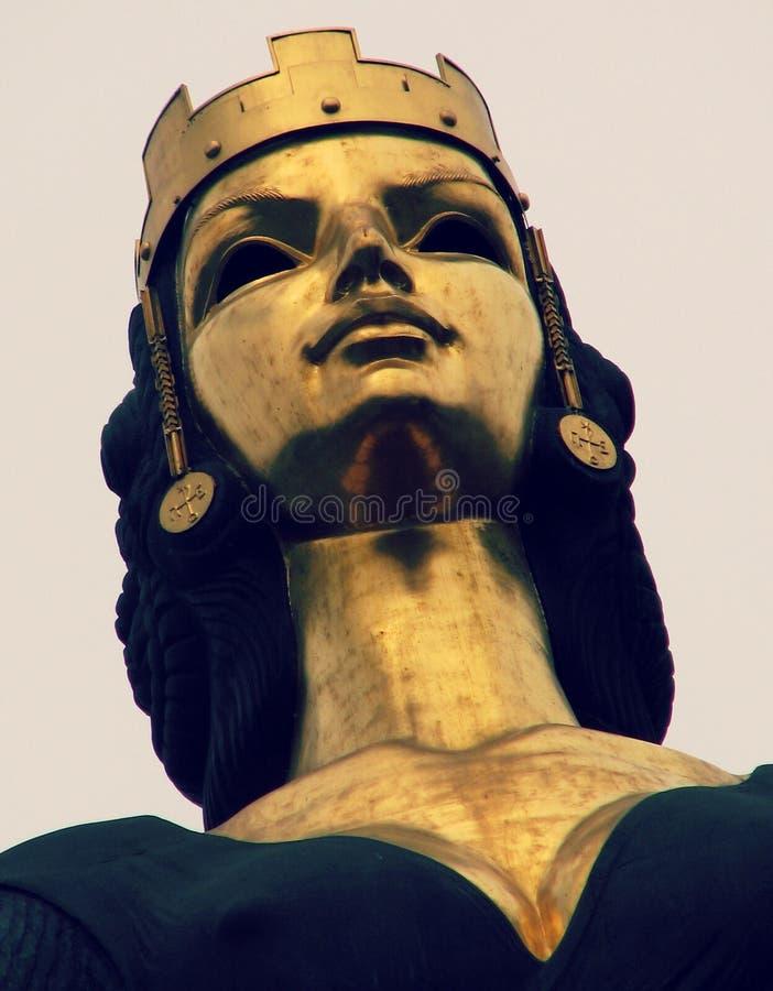 圣徒索非亚雕象在索非亚,保加利亚 免版税库存照片