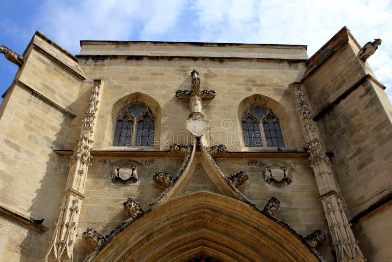 圣徒Agricola教会,阿维尼翁 免版税库存图片