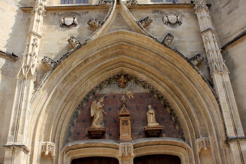 圣徒Agricola教会,阿维尼翁 库存照片