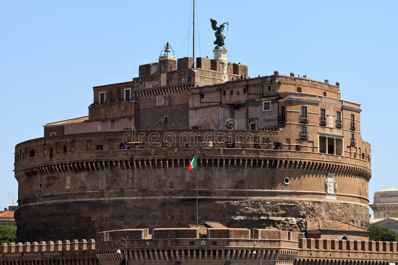 圣徒Ange城堡  免版税库存图片