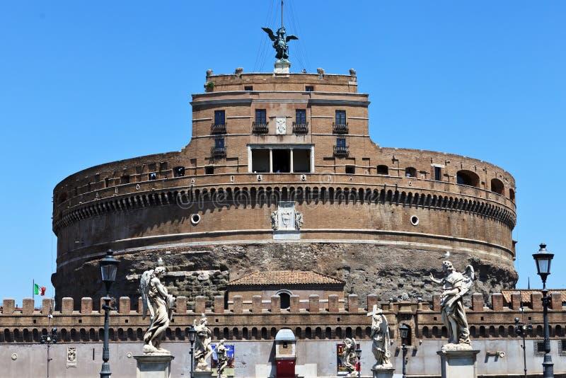 圣徒Ange城堡  库存图片