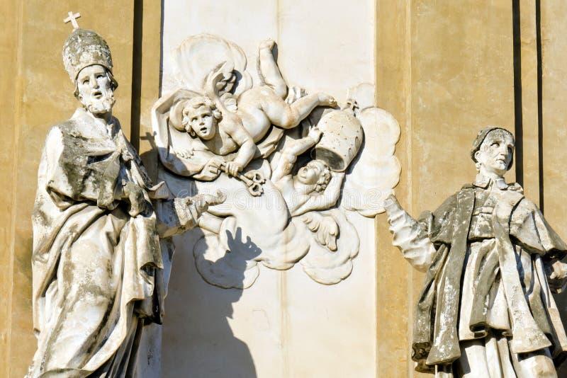 圣徒Domenic教会  免版税库存图片