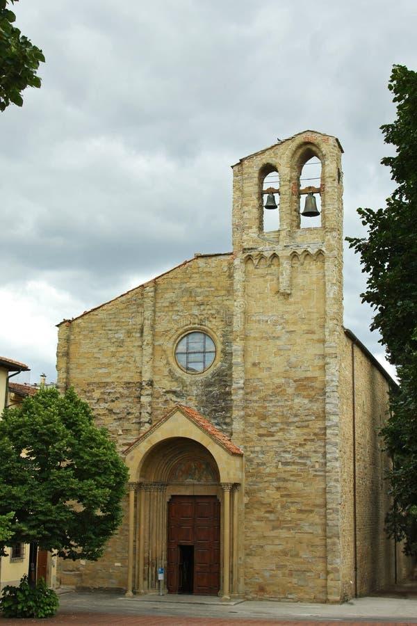 圣徒Domenico -托斯卡纳的教会 免版税库存照片