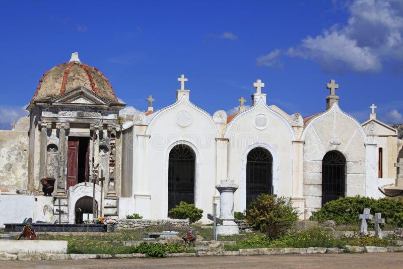 圣徒François海洋公墓, Bonifacio,南可西嘉岛, Fr 免版税库存图片