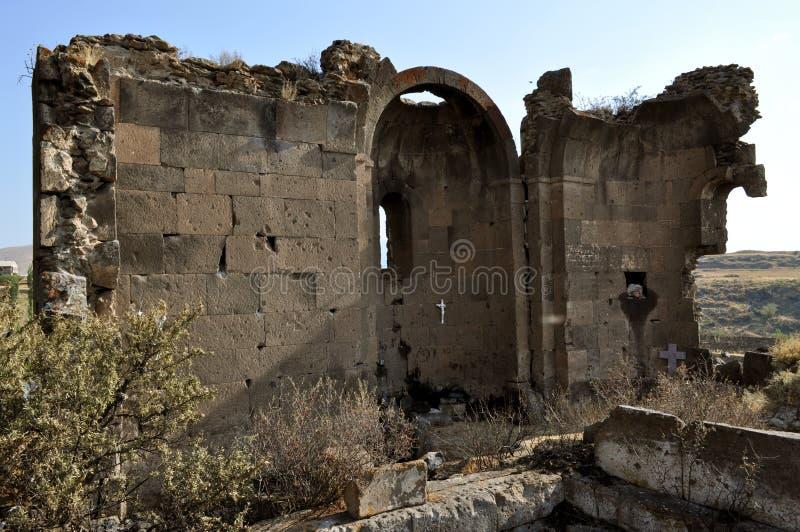 圣徒Gevorg教会科泰克省,亚美尼亚 库存照片