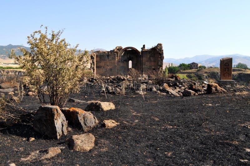 圣徒Gevorg教会科泰克省,亚美尼亚 库存图片