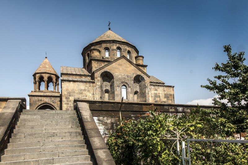 圣徒Hripsime教会在Etchmiadzin,亚美尼亚 免版税库存照片