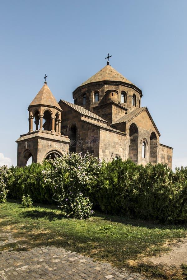 圣徒Hripsime教会在Etchmiadzin,亚美尼亚 免版税图库摄影