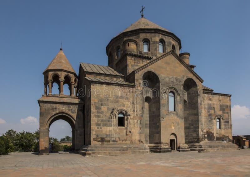 圣徒Hripsime教会在Etchmiadzin,亚美尼亚 免版税库存图片