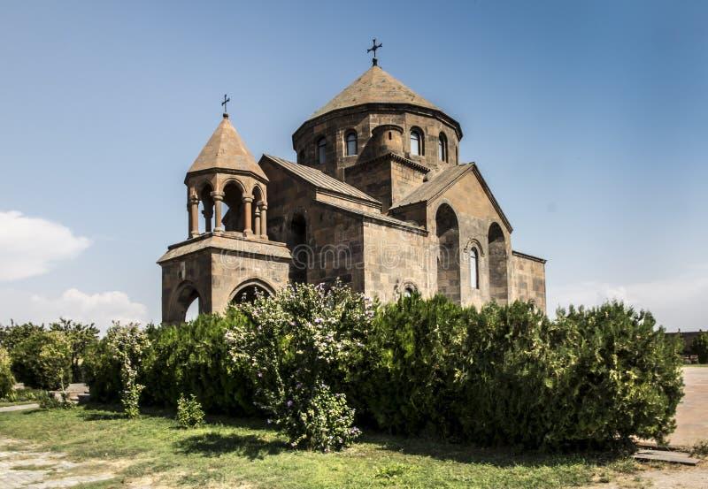 圣徒Hripsime教会在Etchmiadzin,亚美尼亚 图库摄影