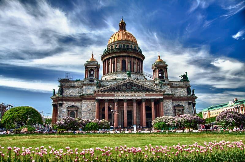 圣徒Isaac大教堂 免版税库存图片