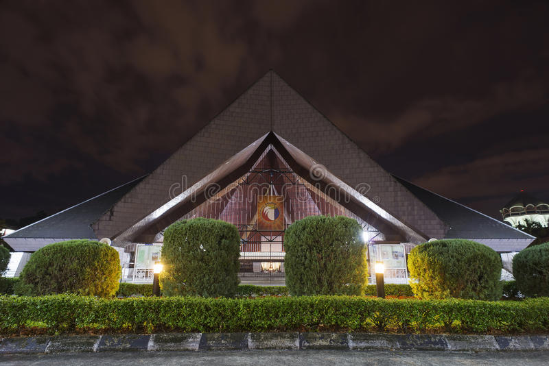 圣徒Josephs大教堂古晋马来西亚 库存图片