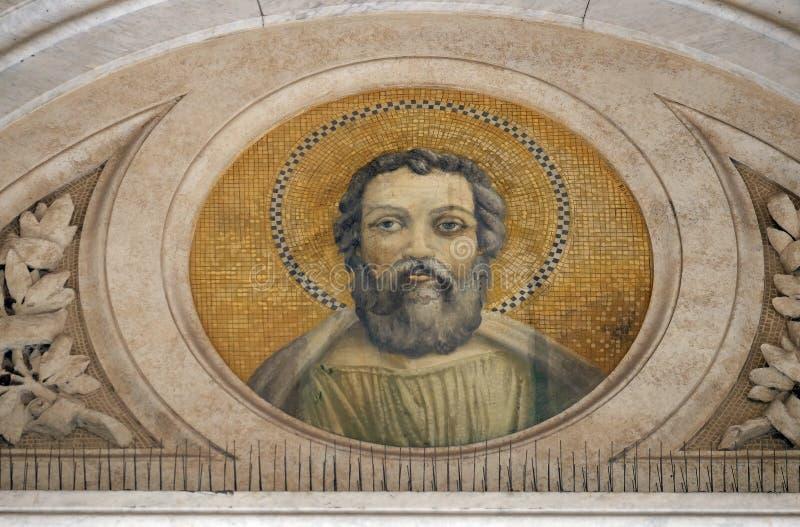 圣徒Judas Thaddaeus 免版税库存图片