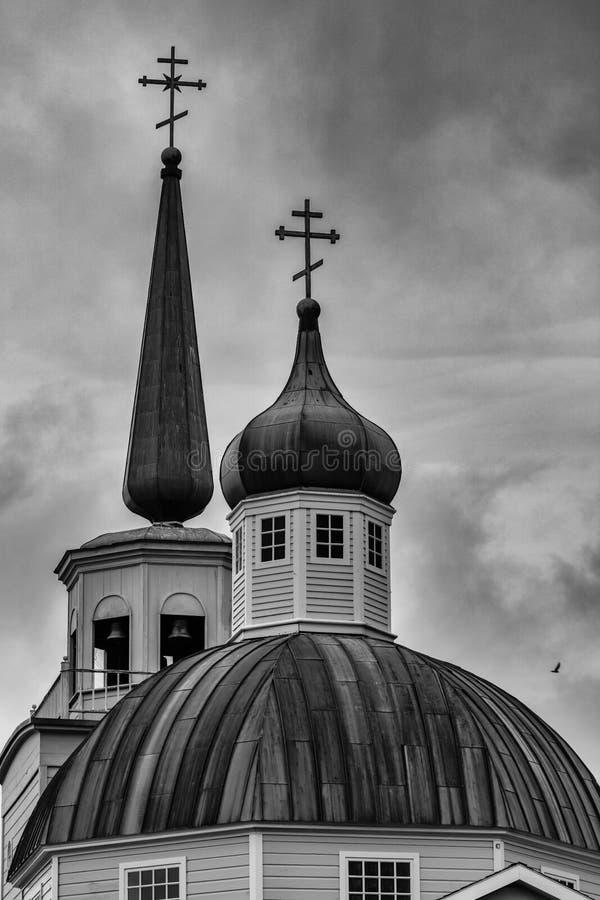 圣徒Michaels东正教大教堂 图库摄影