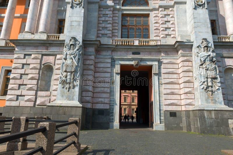 圣徒Michaels城堡的看法 免版税库存图片