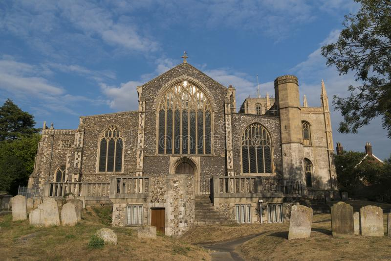圣徒Michaels教会, Beccles,萨福克,英国 免版税库存图片