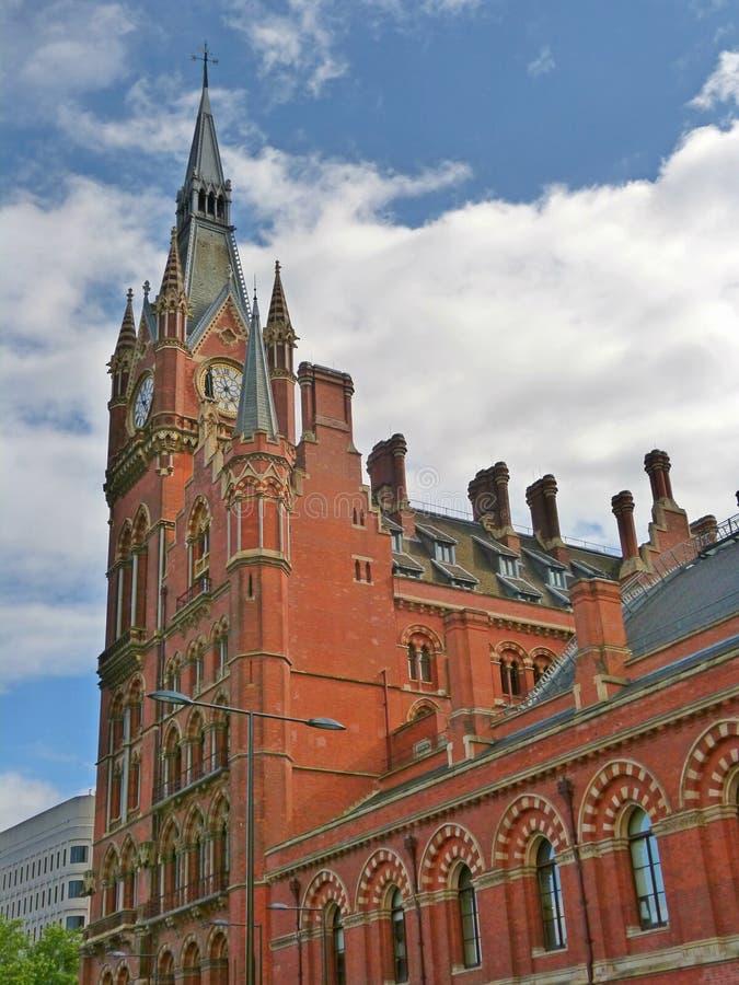 圣徒pancrace火车站的前面 库存图片