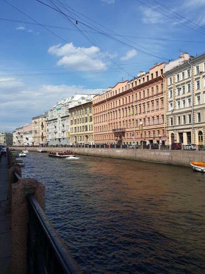 圣徒Peterburg 免版税库存照片