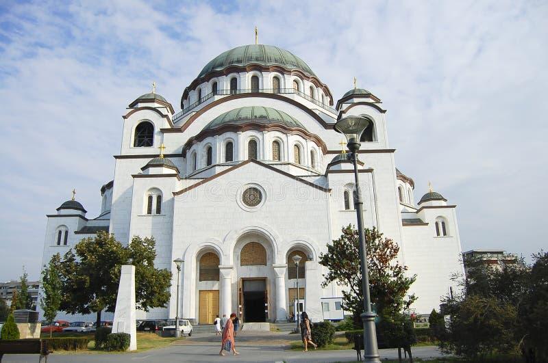 圣徒Sava大教堂-贝尔格莱德-塞尔维亚 免版税图库摄影