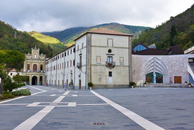 圣所保罗圣芳济教堂,卡拉布里亚,意大利南部 库存图片