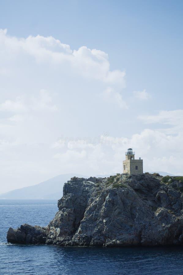 圣托里尼海岛旅行目的地和风景 免版税库存图片