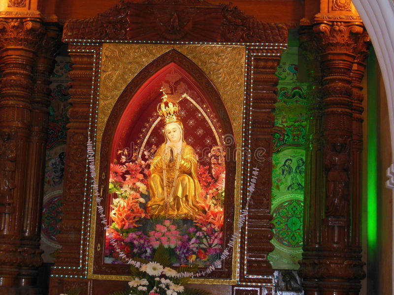 圣托马斯大教堂3 图库摄影
