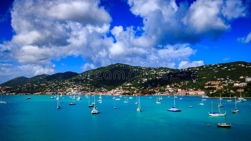 圣托马斯热带海岛 免版税库存图片