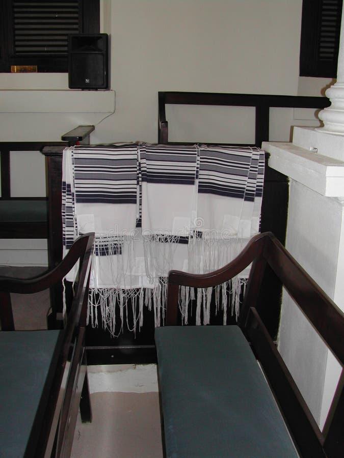 圣托马斯的犹太教堂西伯来会众 图库摄影