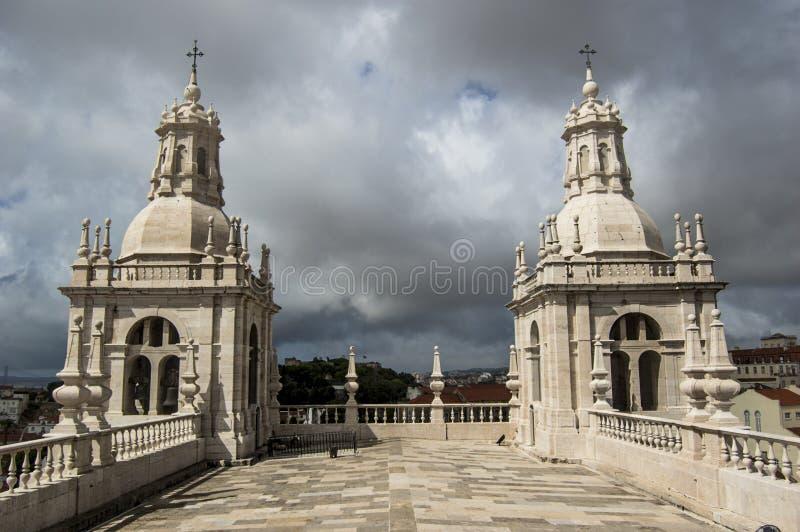 圣文森特的修道院 免版税图库摄影
